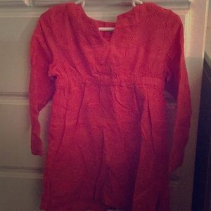 Cute red dress for toddlers